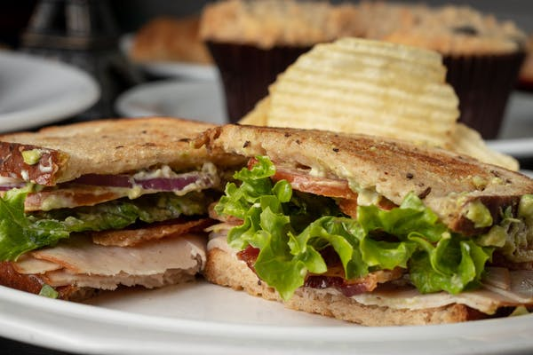 Turkey, Bacon & Avocado Sandwich