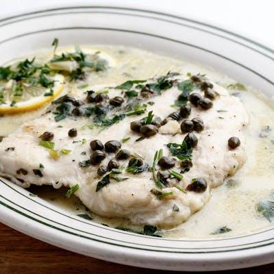 Lunch Chicken Picatta