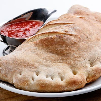 Lunch Ricotta & Meatball Calzone