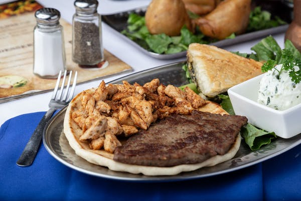 Combination Greek Platter