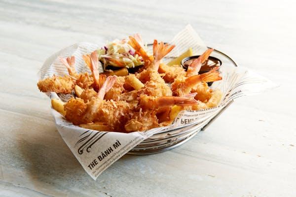 Caribbean Coconut Fried Shrimp