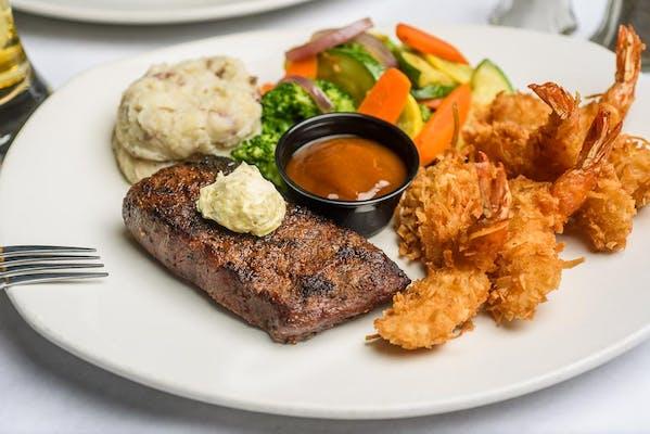 Jungle Steak & Shrimp