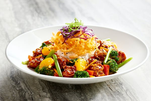 Korean Spicy Stir-Fried Chicken
