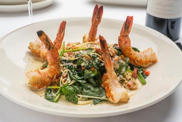 Shrimp Scampi Capellini
