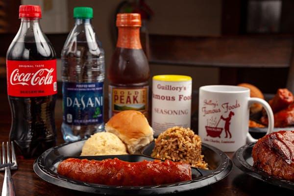 Sausage Plate Coca-Cola Combo