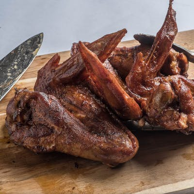 Smoked Turkey Wings (Available at noon - until)