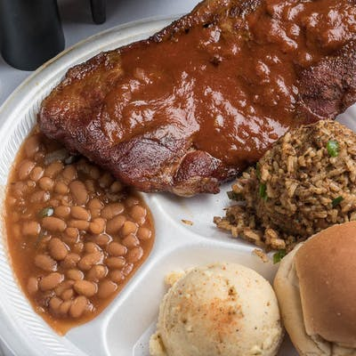 Pork Steak Plate