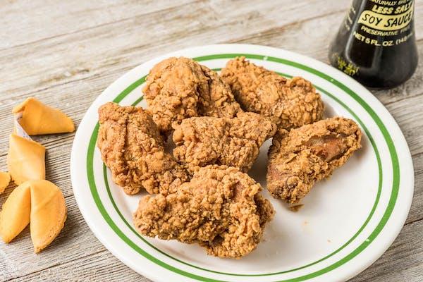 6. Fried Chicken Wings