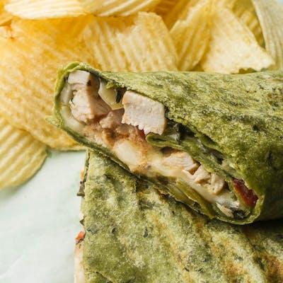 Spinach & Artichoke Wrap