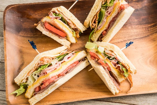 Berry Town Club Sandwich