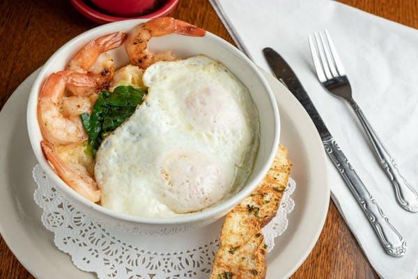 Shrimp, Grits, & Eggs