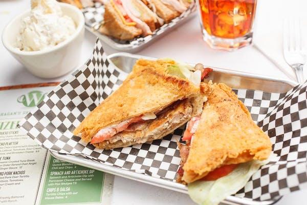 Roasted Chicken Club Sandwich