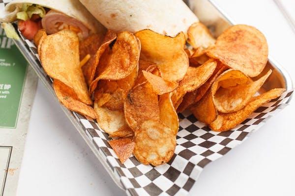 Side Hand-Cut Kettle Chips