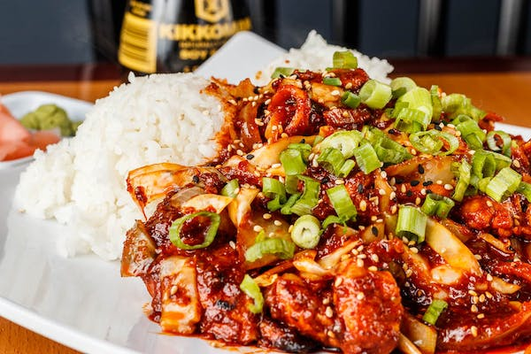 K5. Spicy Chicken Bowl