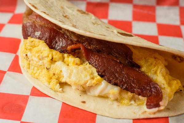 Bacon & Egg Taco