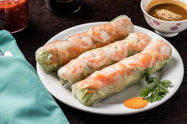 A3. Shrimp Spring Rolls