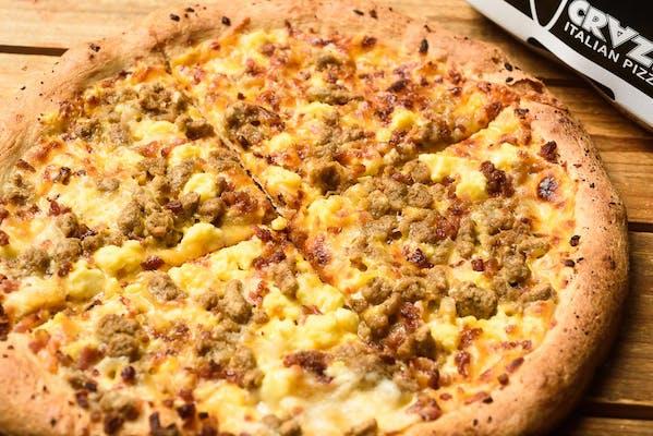 Reckless Breakfast Pizza