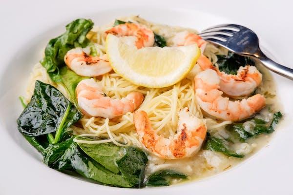 Fam Shrimp Scampi