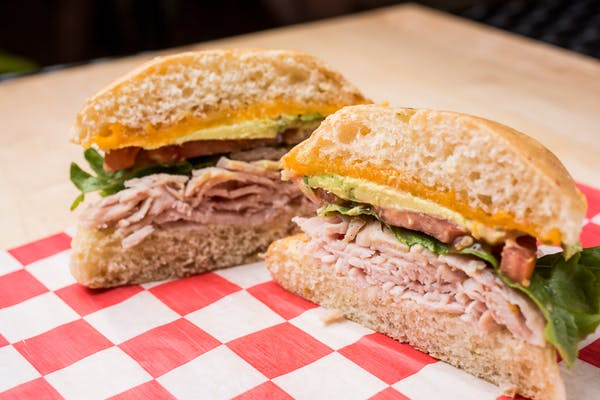 Hot Meat Melt Sandwich