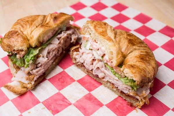 Chicken or Turkey Bacon Ranch Sandwich
