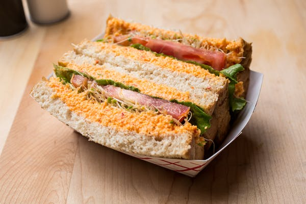 Friday Special: Chicken Salad, Tuna Salad, Egg Salad or Pimento Cheese Sandwich