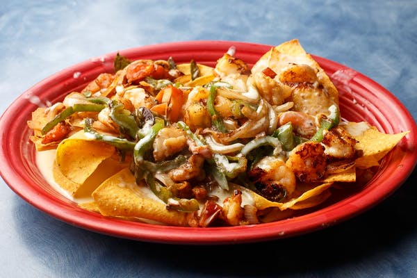 107. Shrimp Nachos
