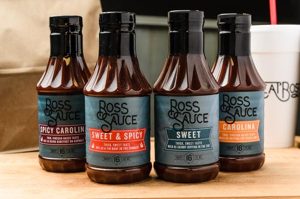 Boss Sauce Bottle