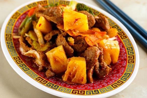 B11: Pineapple Beef