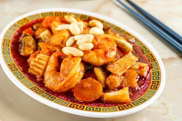 S8: Kung Pao Shrimp