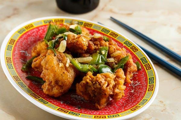 T16: Black Pepper Chicken