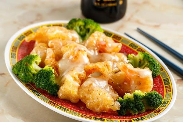 T19: Honey Mayo Shrimp