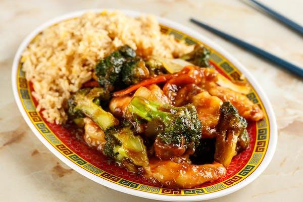 L22: Shrimp with Broccoli
