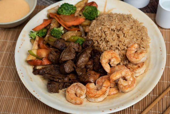 Ribeye Steak & Shrimp