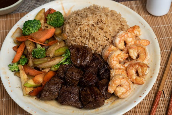 Filet Mignon & Shrimp