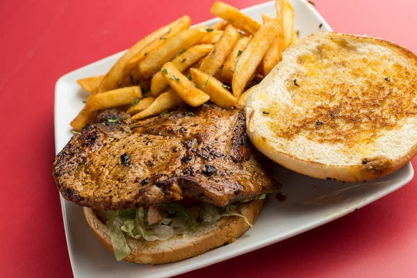 Pork Chop Sandwich