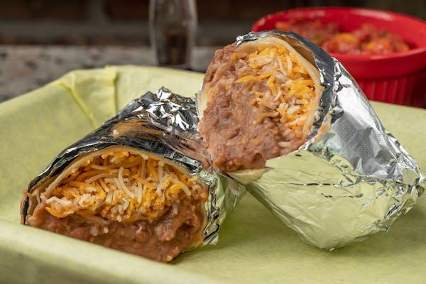 Kid's Bean & Cheese Burrito