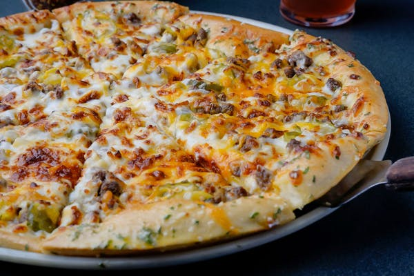 Bacon Cheeseburger Pizza (Large)