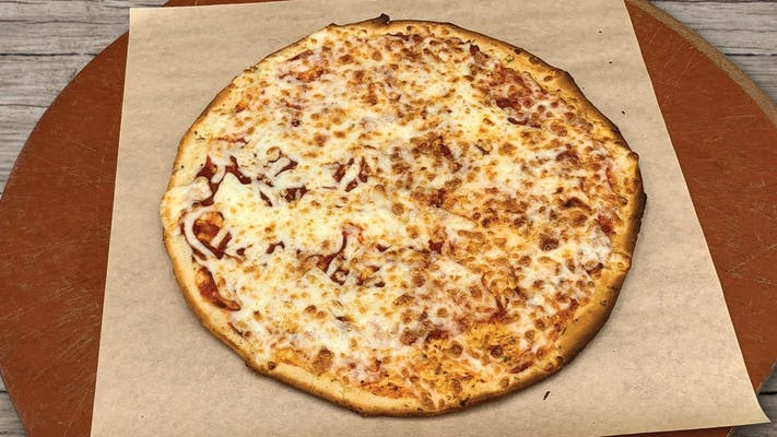 Gluten-Free Thin Crust Cheese Pizza