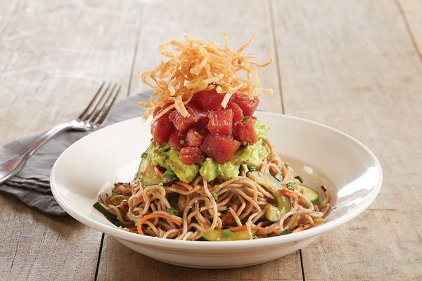 Enlightened Pacific Poke Soba Noodles*
