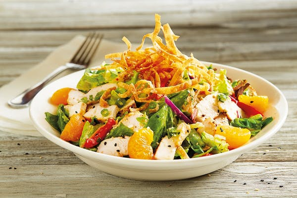 Enlightened Asian Chopped Salad