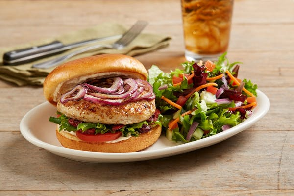 Enlightened Turkey Burger
