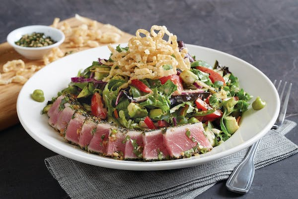 Enlightened Seared Ahi Salad*