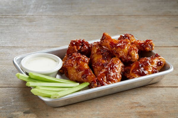 Bacon Jam Wings