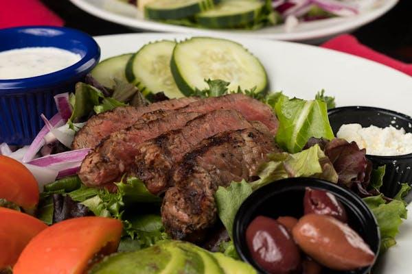 Avocado Steak Salad