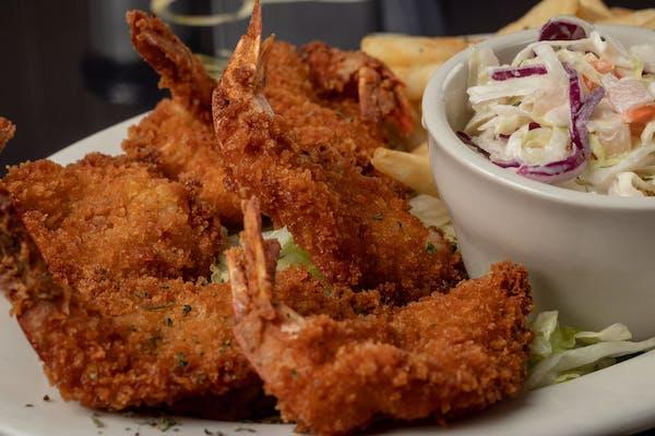 Golden Fried Jumbo Shrimp