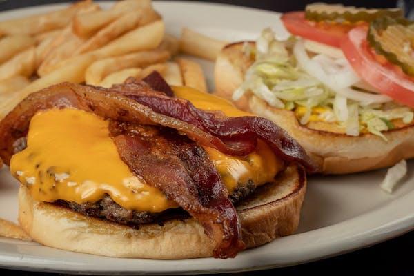 Bacon Cheese Chubbie Burger