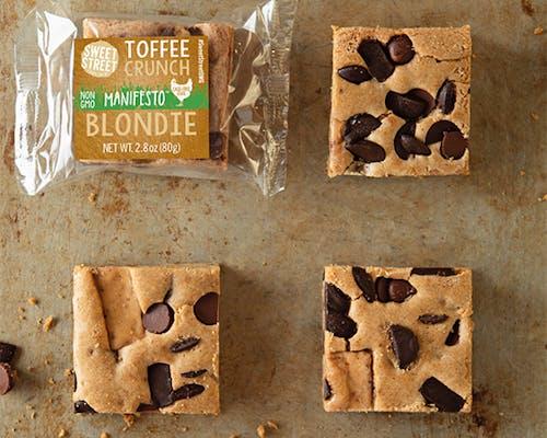 Toffee Crunch Blondie