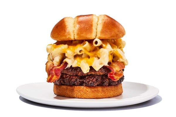 Bacon Mac & Cheese Burger