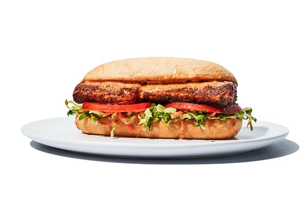 Blackened Mahi-Mahi Sandwich