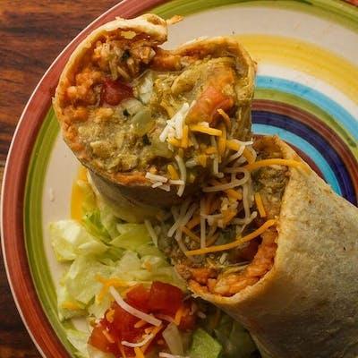 Chili Verde Pork Burrito